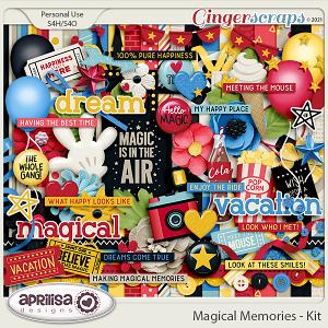 Magical Memories - Kit by Aprilisa Designs