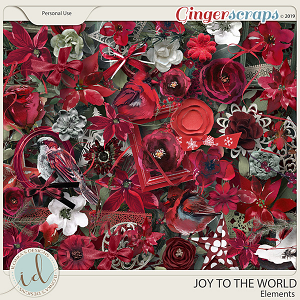 Joy To The World Elements by Ilonka's Designs
