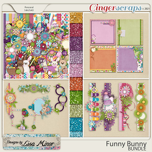 Funny Bunny BUNDLE from Designs by Lisa Minor