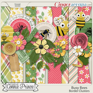 Busy Bees - Border Clusters