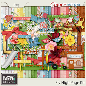 Fly High Page Kit by Aimee Harrison
