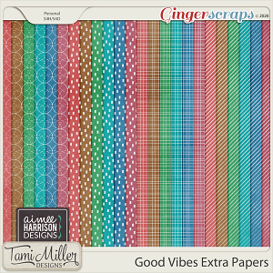 Good Vibes Extra Papers by Aimee Harrison and Tami Miller