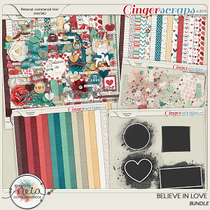 Believe In Love - Bundle  by Neia Scraps