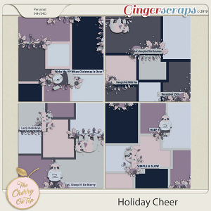 The Cherry On Top Holiday Cheer Templates