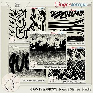 Gravity&Arrows Edges&Stamps Bundle