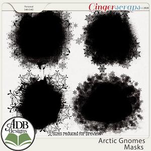Arctic Gnomes Masks by ADB Designs