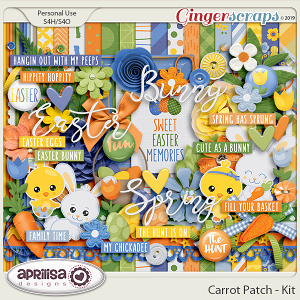 Carrot Patch - Kit by Aprilisa Designs