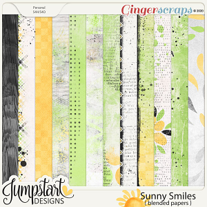 Sunny Smiles {Blended Papers} by Jumpstart Designs