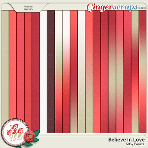 Believe In Love Ombré Papers and Cardstock by JB Studio