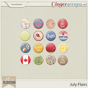 July Flairs