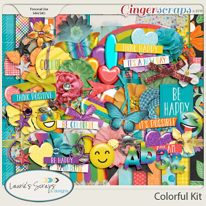 Colorful Page Kit
