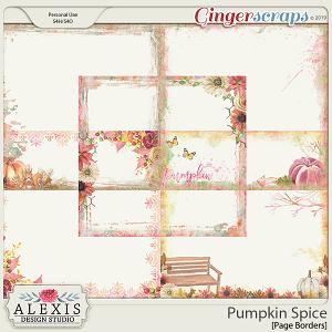 Pumpkin Spice - Page Edges