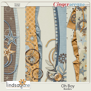 Oh Boy Borders by Lindsay Jane