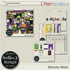 Monster Mash BUNDLE by Heather Z Scraps