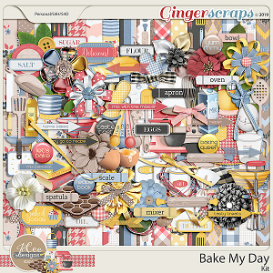 Bake My Day Kit by JoCee Designs