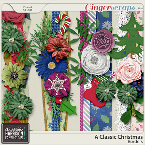 A Classic Christmas Borders by Aimee Harrison