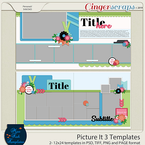 Picture This 3 Templates by Miss Fish