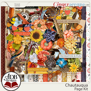 Chautauqua Page Kit by ADB Designs