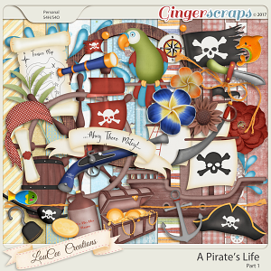 A Pirate's Life Part 1 by LouCee Creations