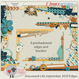 Document Life September 2020 Edges by Luv Ewe Designs