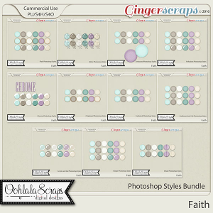 Faith CU Photoshop Styles Bundle