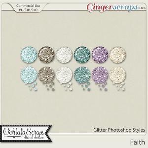 Faith Glitter CU Photoshop Styles