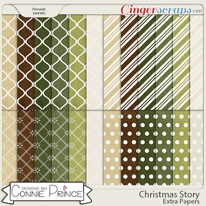 Christmas Story - Extra Papers by Connie Prince