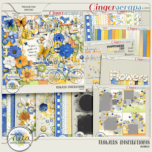 Flowers Inspirations - Bundle - by Neia Scraps