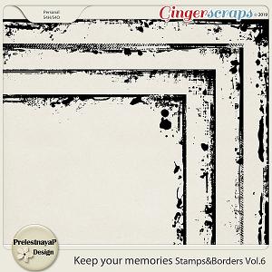 Keep your memories Stamps&Borders Vol.6