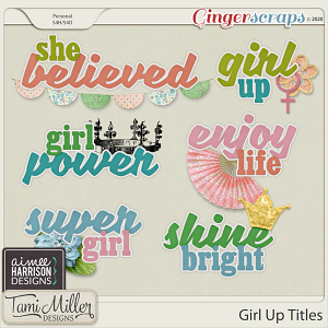 Girl Up Titles by Aimee Harrison and Tami Miller