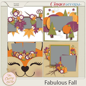 The Cherry On Top:  Fabulous Fall Templates