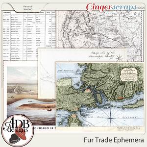 Heritage Resource - Fur Trade Ephemera by ADB Designs