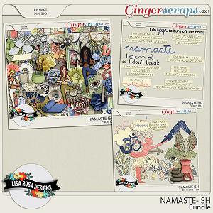 Namaste-ish - Bundle by Lisa Rosa Designs