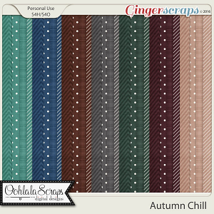 Autumn Chill Pattern Papers