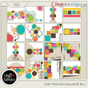 Craft-Templates Album-16 Vol.1