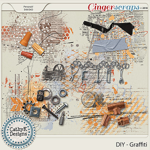 DIY - Graffiti by CathyK Designs