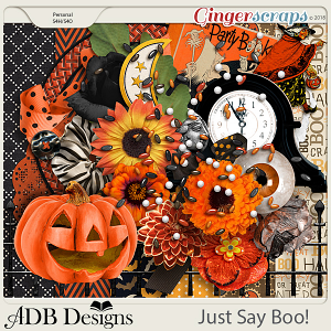 Just Say Boo! Petite Kit by ADB Designs