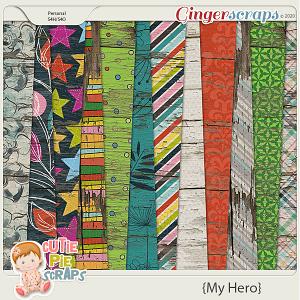 My Hero - Peter Pan - Wood Papers