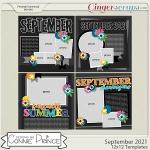 September 2021- 12x12 Temps (CU Ok) by Connie Prince