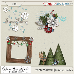 Winter Critters|Finishing Touches