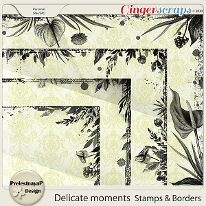 Delicate moments Stamps & Borders