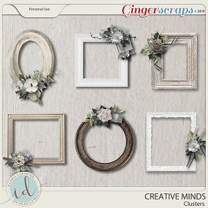 Creative Minds Clusters by Ilonka's Designs