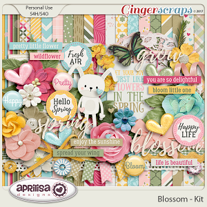 Blossom - Kit by Aprilisa Designs