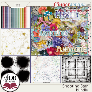Shooting Star Bundle by ADB Designs