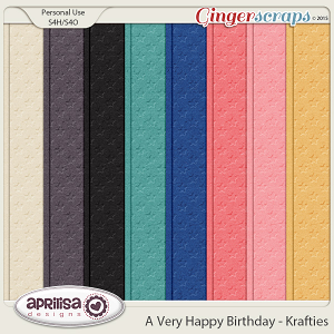 A Very Happy Birthday - Krafties