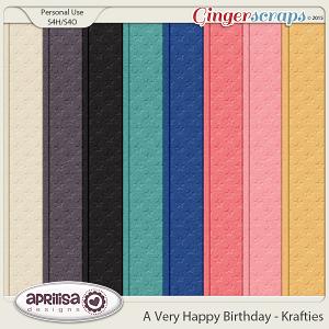 A Very Happy Birthday - Krafties