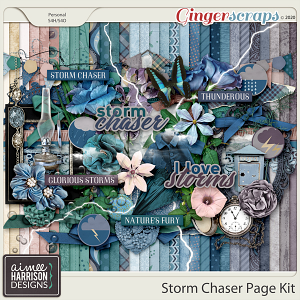 Storm Chaser Page Kit by Aimee Harrison