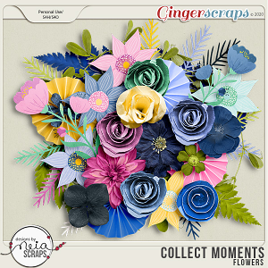 Collect Moments - Flowers - by Neia Scraps