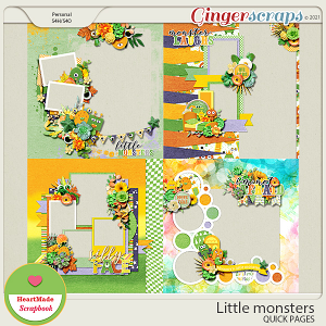 Little monsters - quick pages
