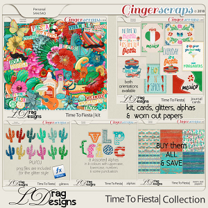 Time To Fiesta: The Collection by LDragDesigns